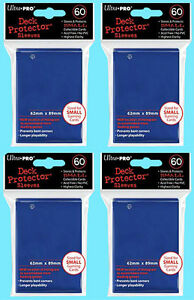120 Ultra Pro Deck Protector Card Sleeves Small Sized Red Yugioh Vanguard