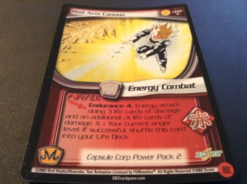 CCPP2!! Dragon Ball Z CCG Red Arm Cannon CCPP7!