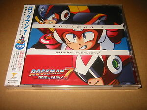 Details about Rockman 7 [Mega Man 7] / Capcom SFC/SNES Original SOUNDTRACK  CD