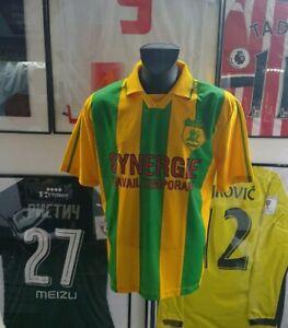 Maillot-jersey-vintage-rare-shirt-trikot-fc-Nantes-fcna-1998-1999-2000-98-99-L