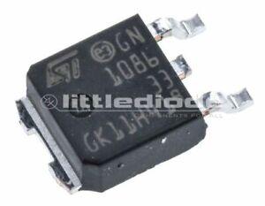 STMicroelectronics-LD1086DT33TR-LDO-Regulator-1-5A-3-3-V-1-3-Pin-DPAK