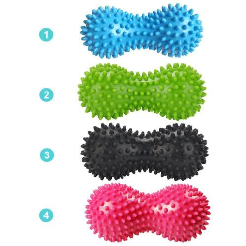 Erdnuss Massage Ball Roller Spiky Entspannen Tension Muscle Schmerzlinder Gift