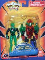 Power Rangers Jungle Fury 4 Green Elephant Battle Gear Megazord 2008
