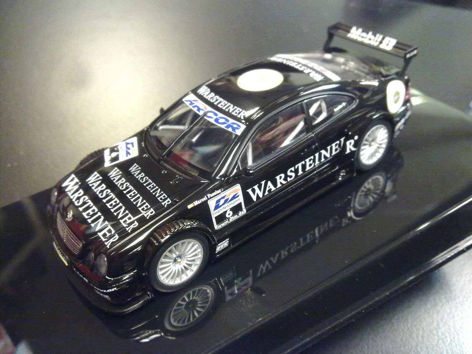 AutoArt Mercedes Mercedes Mercedes Benz CLK DTM 2000 1 43 Marcel Fässler (SUI) 0c8c75