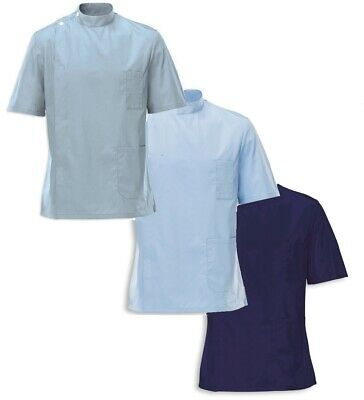 Mens Male Therapist Beauty Hairdresser Spa Gown Salon Health Barber Tunic