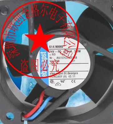 1pc new fan freeship ebmpapst 8414N 8025 24V 85mA 2W 2