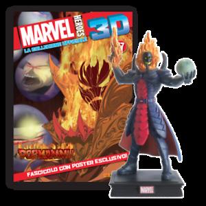 MARVEL HEROES 3D Uscita n° 71 Captain Marvel Collezione ufficiale ACTION FIGURE