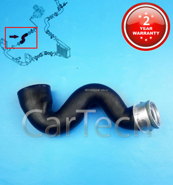 AUDI A4 B6 A6 C5 1 9TDI HOSE PIPE TURBO BOOST CHARGER AIR INTAKE RUBBER