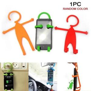 Mobile-Phone-Wall-Charger-Adapter-Charging-Holder-Hanging-Stand-Bracket-Support