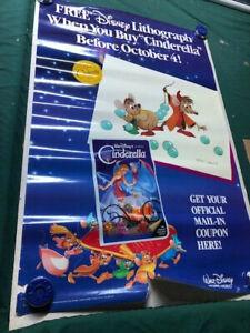 Vintage-1988-Disney-Cinderella-Movie-Poster
