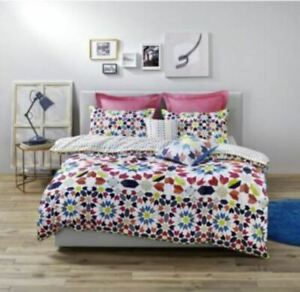 Esprit-Dallah-Queen-Bed-Multi-Colour-Quilt-Cover-Dooner-Cover