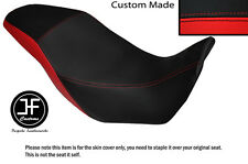 BLACK AND RED VINYL CUSTOM FITS HONDA CB 500 X 13-14 DUAL SEAT COVER ONLY