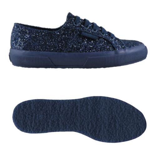 Scarpe 2750 Donna Chic Ginnastica Superga Sneaker macroglitterw EfnqPd