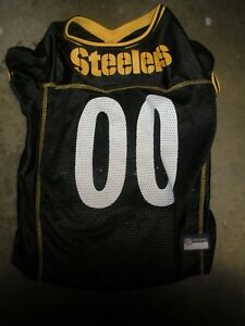 5f88d9a4048 Image is loading Pets-First-Pittsburgh-Steelers-XL-Dog-Jersey