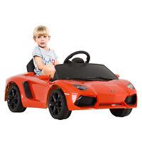 Kids Licensed 6v Ride On Car Toy Lamborghini Aventador Lp700-4 Rc Remote Control