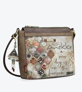Anekke Egypt Pretty Document Case With Arabesque Print Ladies handbag High Qu...