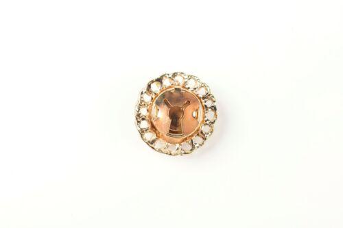 clip 30 mm redondo Oro Vintage Cabeza De León botón decorativo cubiertas