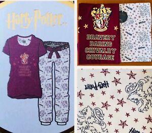 GRYFFINDOR Harry Potter PRIMARK NIGHTIE T Shirt BRAVERY DARING PJ 14 to 20