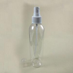 1Pc Clear Plastic Pet Bottle Empty Refillable 8 Oz Spray Mist Mister Pump Lotion