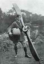 "Albert Ball Royal Flying Corps Victoria Cross 1917 British Army World War 1 6x4"""