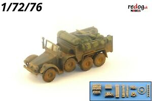 Redog-1-72-Krupp-Protze-camion-militaire-Scale-Modelling-arrimage-diorama-kit