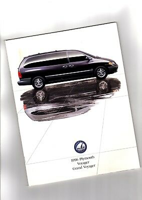 1996 Plymouth Grand Voyager Van Large Size 46-page Original Car Sales Brochure