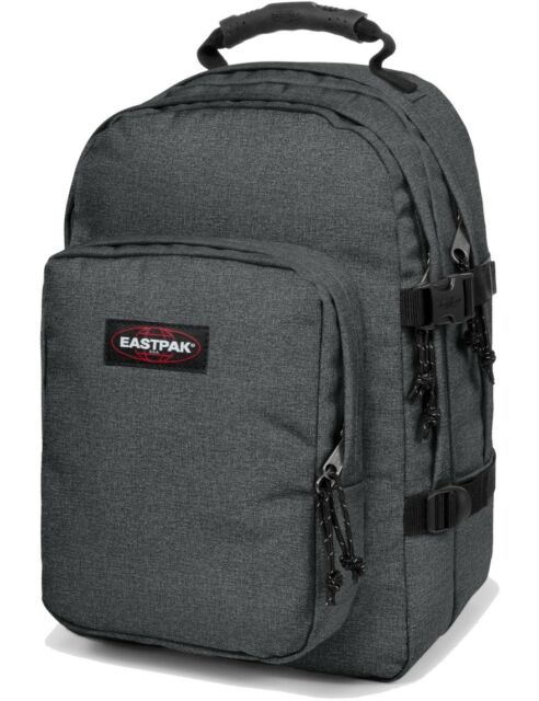 Eastpak Schulrucksack »Provider« Rucksack 33 L Laptopfach Black Denim Grau NEU