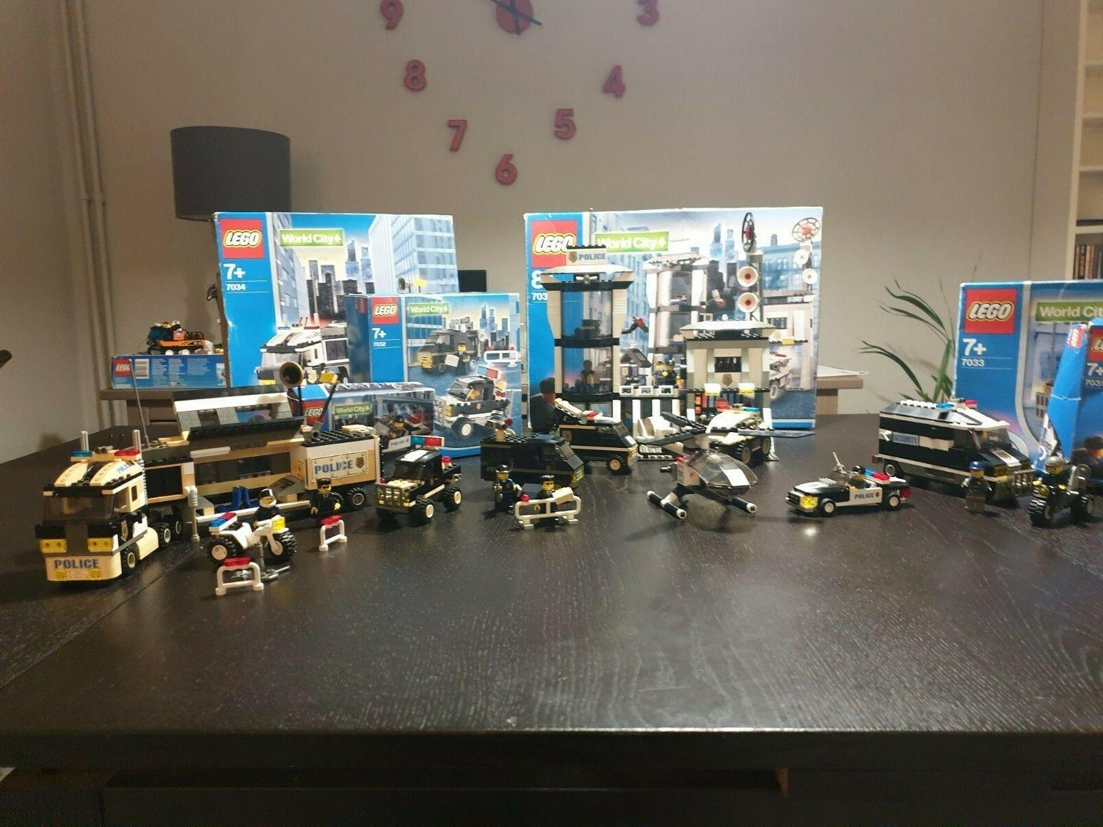 Lego 3030.3031,3032,3033,3034,3035 whole Lego World City Set