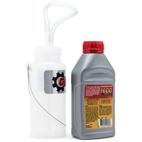 Brake Bleeding Kit With Cable Mount Bottle And Motul 8068HL RBF 600