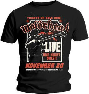 MotÖrhead Lemmy Mf´ing T-shirt 100% Garantie Musik