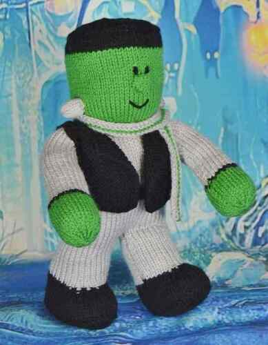Knitting By Post Frankenstein Festive Friends Knitting Toy Pattern