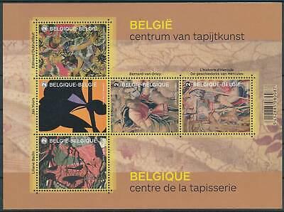 Belgien Block 189** Belg Gobelins Hell In Farbe Ehrlichkeit 241837