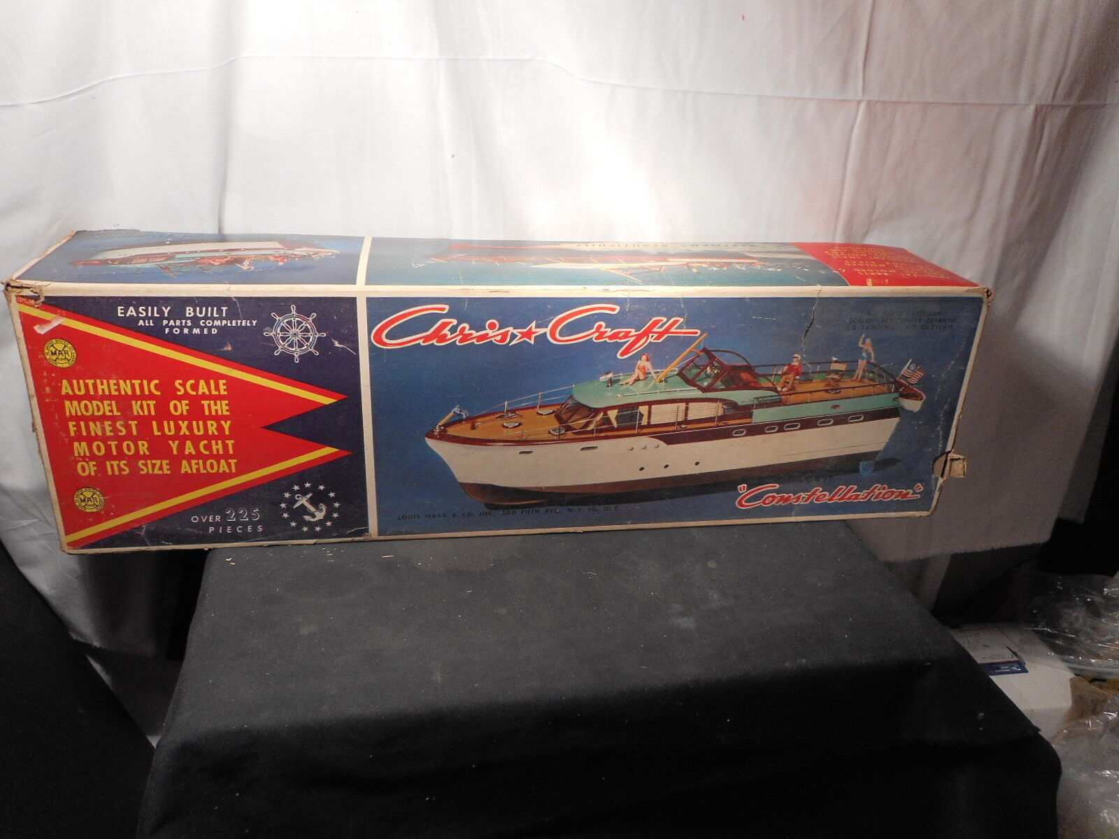 RARE MARX Model Chris Craft Constellation Motor Yacht