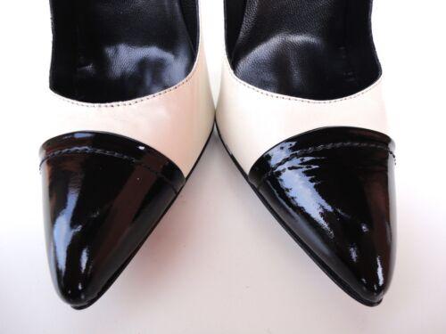 Noir hauts Made Italy Decolte Dᄄᆭcolletᄄᆭ Beige talons In ᄄᄂ Cuir Noir Schuhe Nude 35 eE2YD9HWIb