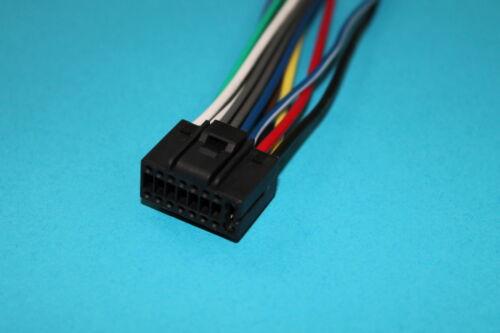 Wire Harness for Kenwood KDC-X395 KDC-BT368U KDC-BT365U KDC-BT852HD KDC-155U #S
