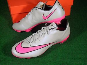 grey and pink nike football boots