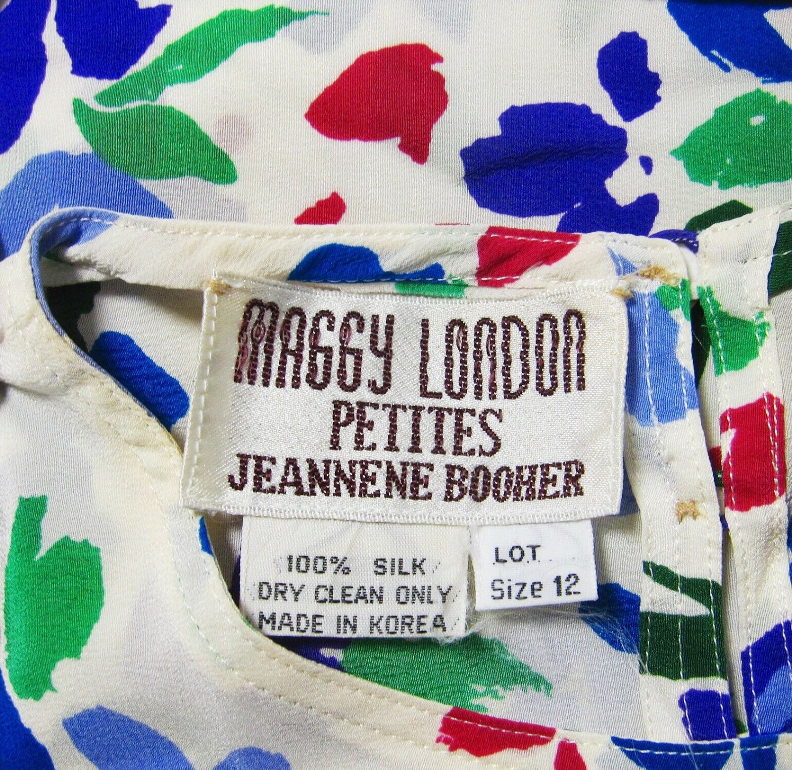 MAGGY LONDON JEANNENE BOOHER SILK SLEEVELESS CREW… - image 9