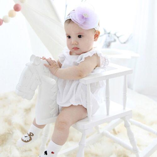 Three Colours Baby Toddler Kids Flower Chiffon Headband Kids Hair Accessories