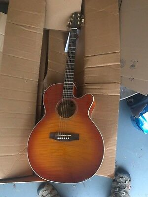 Guitars & Basses Gentle Takamine Eg440c Acoustic/electric Guitar High Standard In Quality And Hygiene