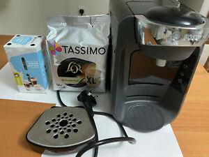Tassimo by Bosch TAS3202GB Suny Pod Coffee Machine - Black + PODS