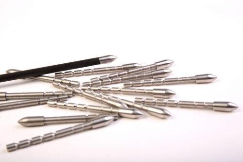 12pcs Archery Arrowheads Points Tips 80-230gr Arrowheads ID4.2mm Target Practice