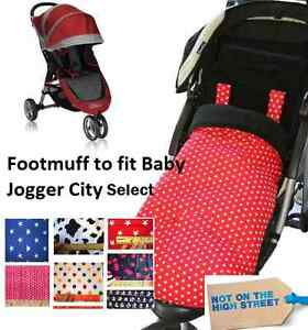 Camouflage Fleece Footmuff Compatible With Baby Jogger City select
