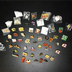 Lot Of 56 Vintage Mcdonald's Employee Staff Collector Lapel Pins 80s 90s 2000s