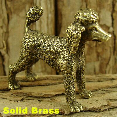 "Solid Brass /""Teddy Dog/"" Figurine Statue Dog Decoration Ornament Animal Figurines"