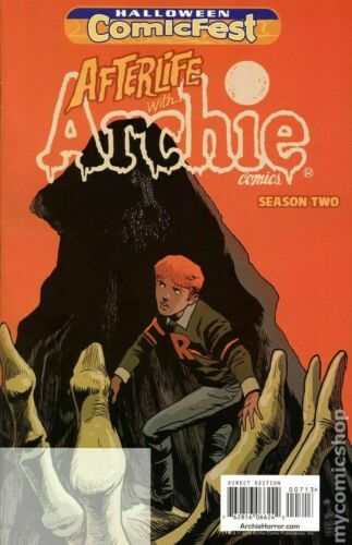 Afterlife with Archie Season 2 Unstamped Halloween Comicfest 2016 1st Print NM