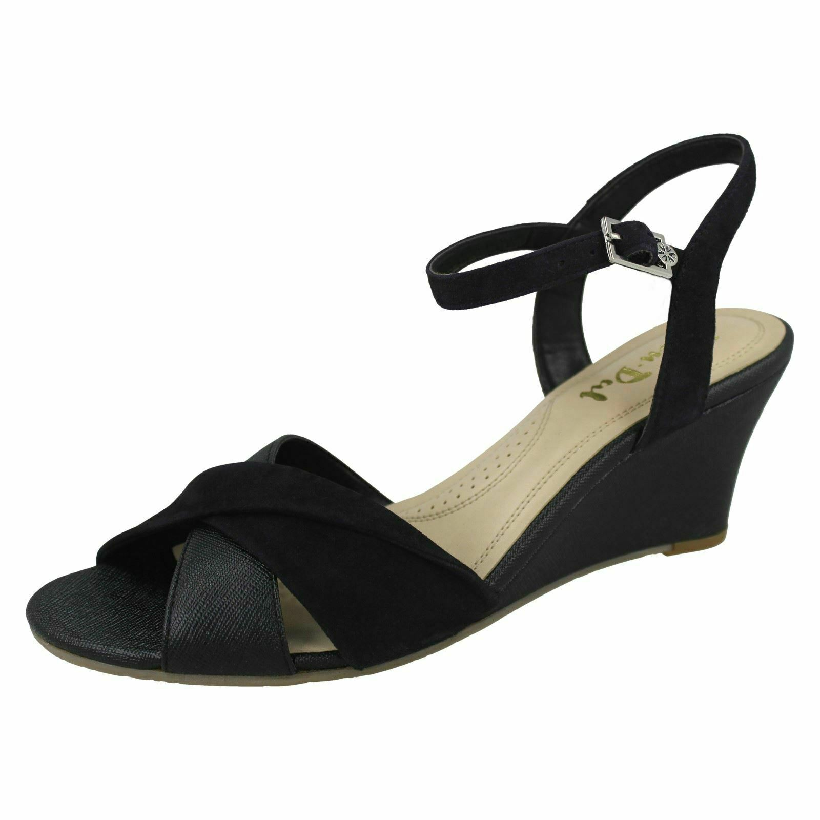 Ladies Van Dal Casual Wedge Heeled Sandal Beauworth