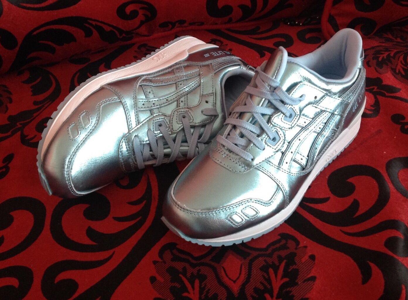 ASICS GEL LYTE III H6E5K 4444 Damenschuhe Schuhe ICE Blau 100% AUTHENTIC