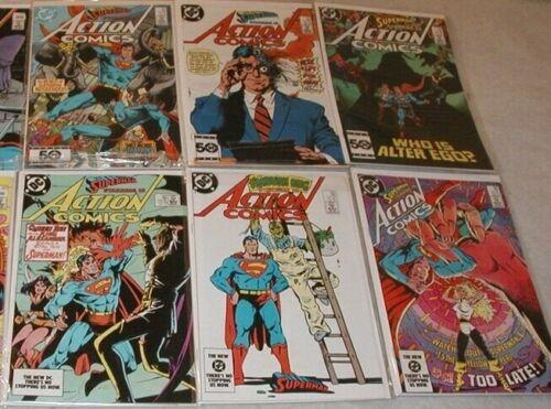 Action Comics U-PICK ONE #559,560,562,572,576,577,578 or 580 PRICED PER COMIC