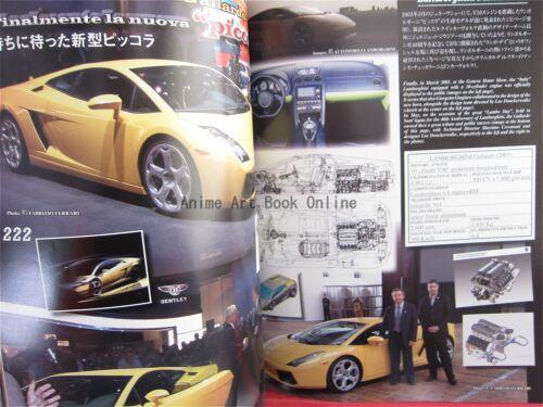 Lamborghini Prototype Complete File Complete Data /& Analysis Book
