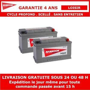 2x Batterie de Loisirs à Double Usage Hankook XV110
